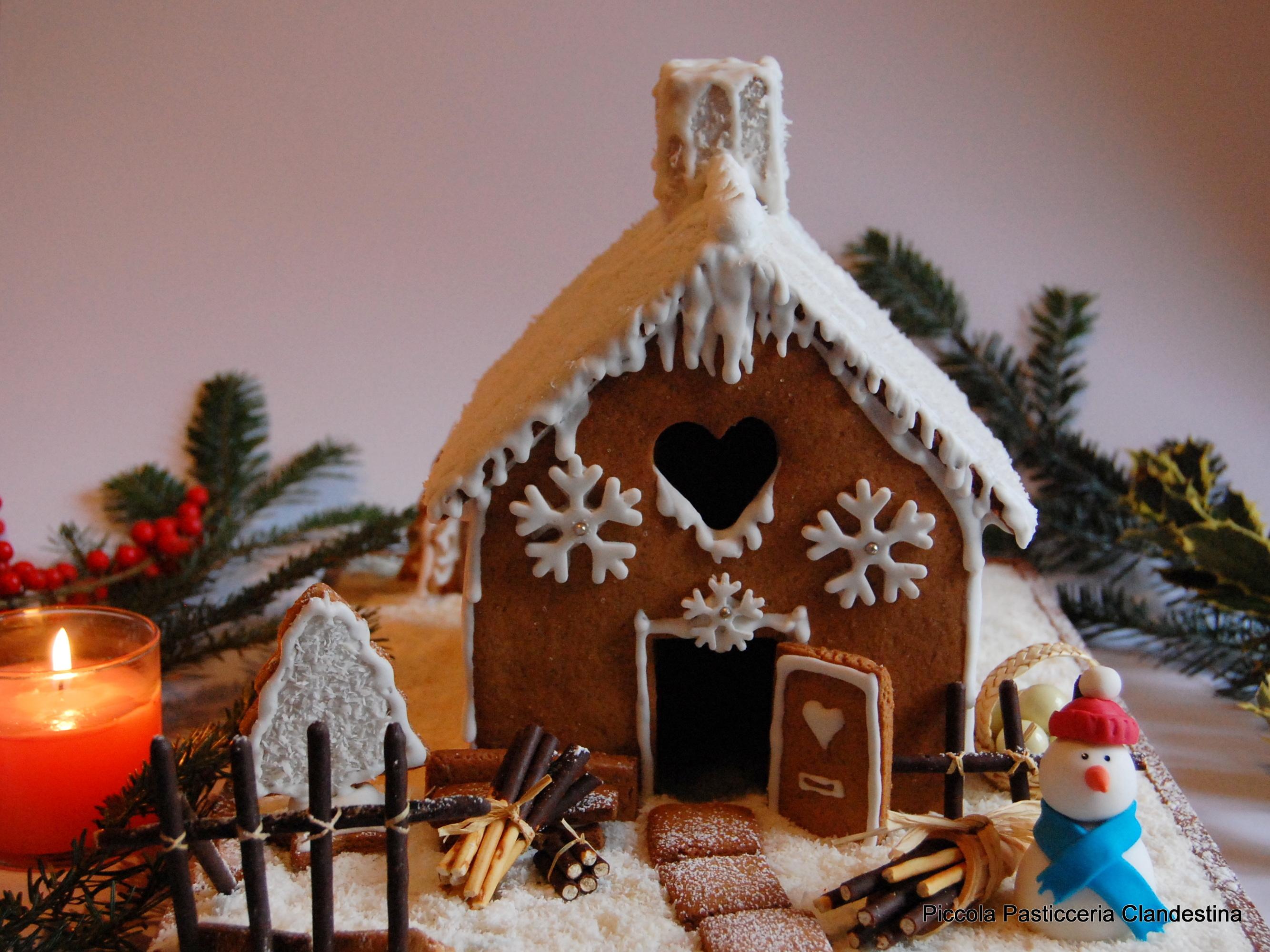 Casetta Di Natale Di Cioccolato : Casetta di pandizenzero piccola pasticceria clandestina