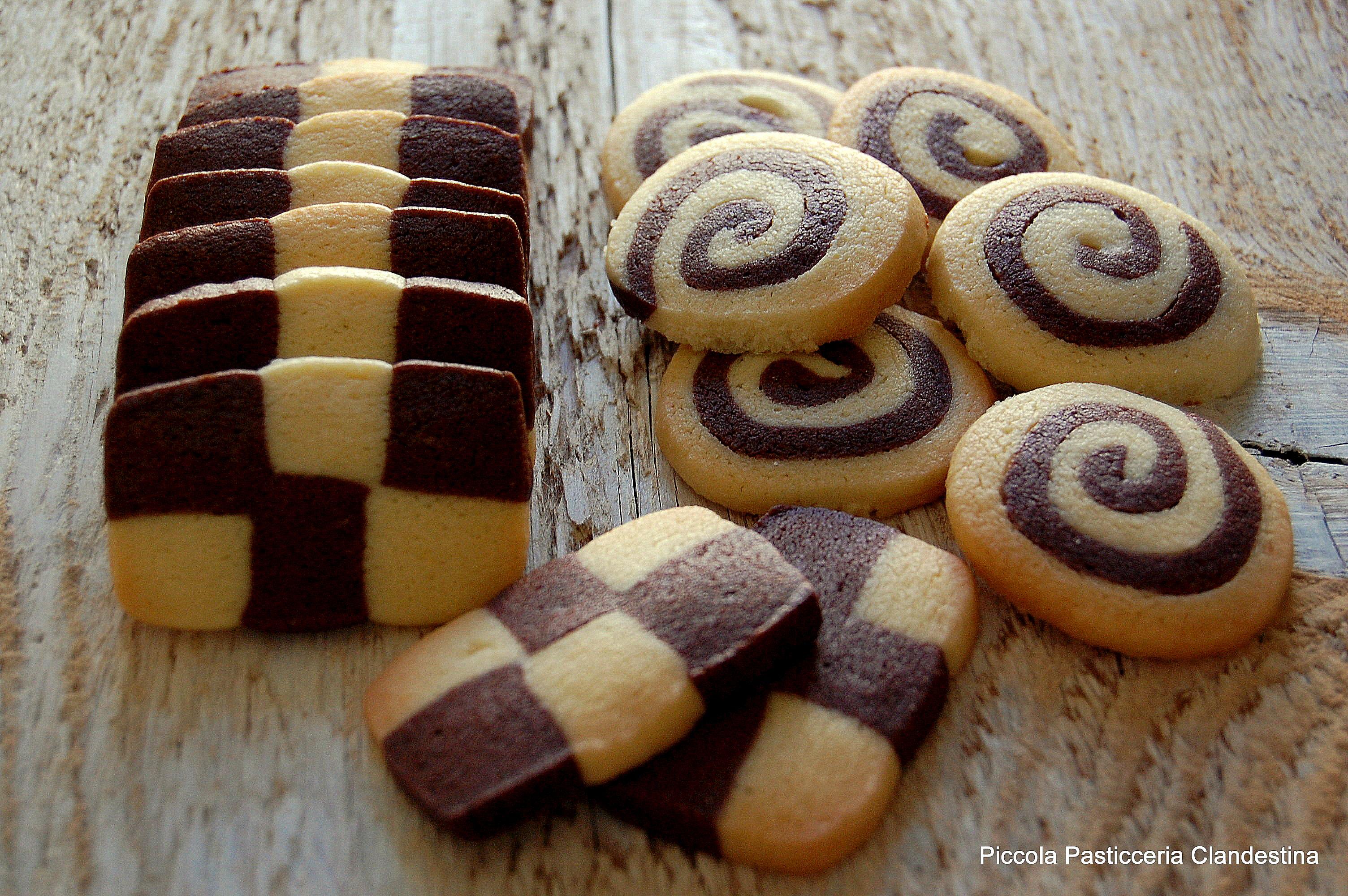 Biscotti di Pastafrolla Bicolore